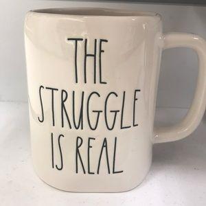 The struggle is real Rae Dunn mug